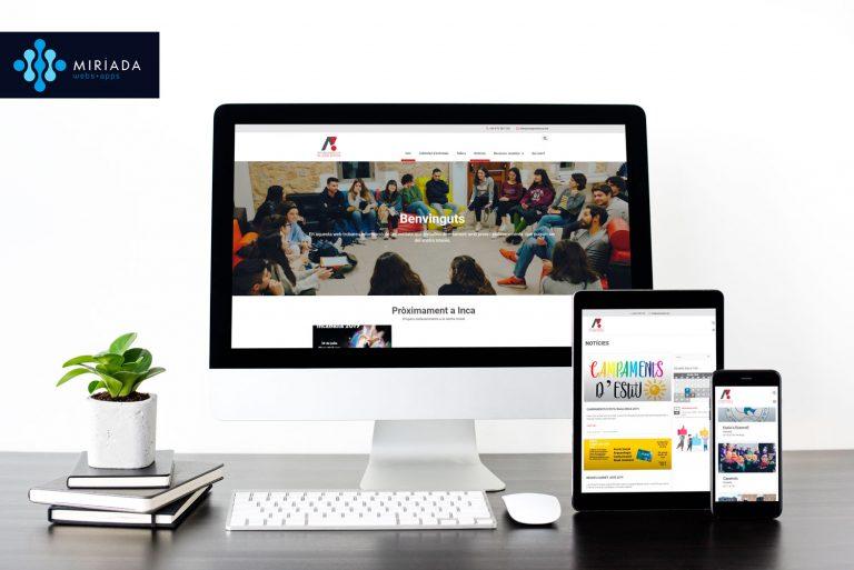 Web Oficina d'Atenció al Jove d'Inca