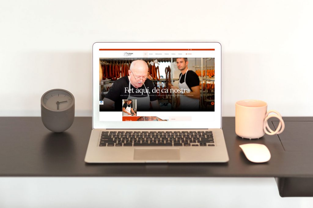 Ca's Sereno presenta nova web