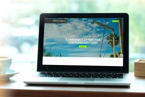 Farola Solar Led tiene nueva web